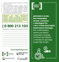 Допомога особі, яка проживає разом з особою з інвалідністю I чи II групи внаслідок психічного розладу, яка за висновком лікарської комісії медичного закладу потребує постійного стороннього догляду, на догляд за нею