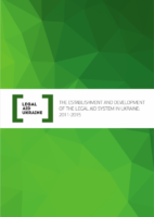 The Establishment and Development of the Legal Aid System in Ukraine: 2011-2015